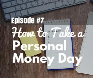 Take a Personal Money Day
